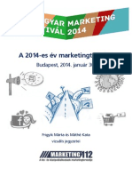 """Magyar Marketing Fesztivál 2014 - """"On the fly"""" prezentáció rajzok"""