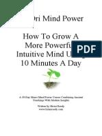 30 Day Maori Mind Power