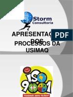 Iso 9001 - Processos Da Usimaq