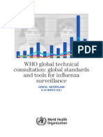 Standart and Tool for Surveillace Influenza March 2011,WHO_HSE_GIP_2011.1_eng