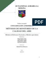 Métodos de monitoreo