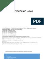 Certificación Java