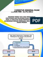 Slide Per 31 Tahun 2013