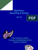 Unit 10 - Algorithms