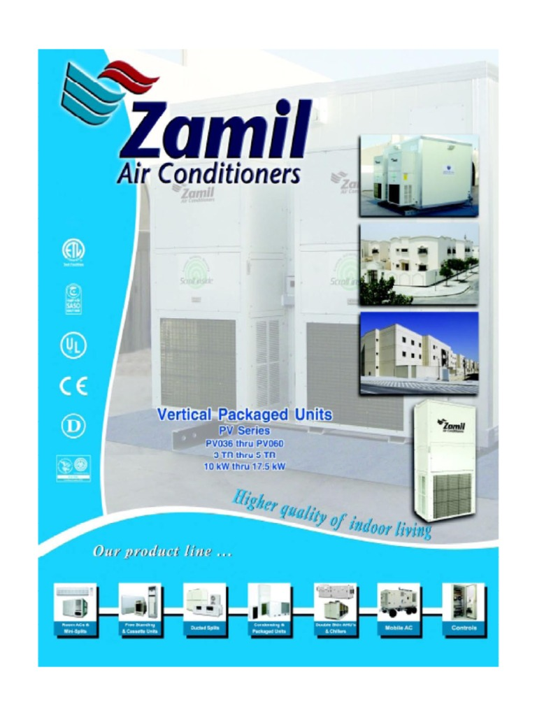 Al zamil pvseries units sheet metal thermostat asfbconference2016 Image collections