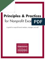 Principles Practices