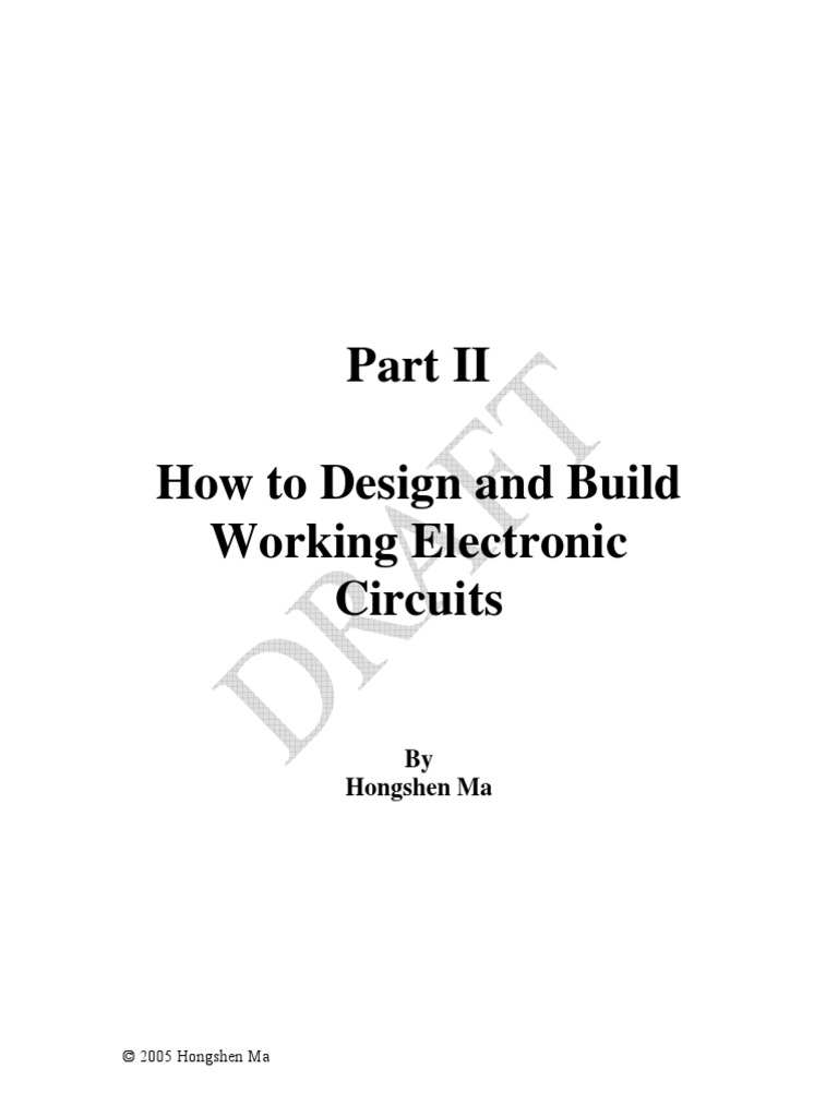 How T Design And Built Working Electronic Circuits Operational Photo Interrupter Circuit For Digital Logic Amplifier