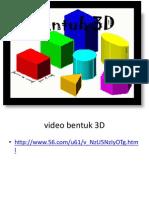 Powerpoint Bentuk 3D