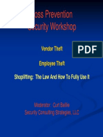 Loss Prevention Workshop