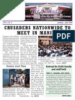 The Crusader Vol. 1 No. 1