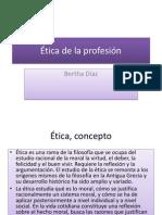 Ética de la profesión (1)