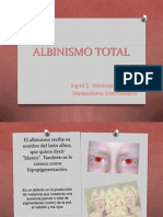 Albinismo Total