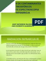 DETECCIÓN DE CONTAMINANTES ATMOSFÉRICOSMEDIANTE ESPECTROSCOPIA INFRARROJA