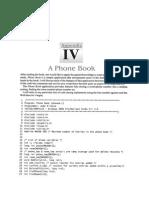 C Program for Phonebook