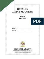 Hafalan Surat Al Quran
