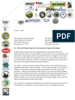 Delta Coalition Letter 10-2-09