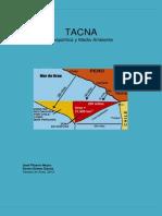 Tacna, Geopolitica y Medio Ambiente