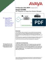 Avaya CS 1000 handbook
