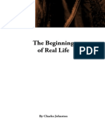 The Beginning of Real Life, by Charles Johnston