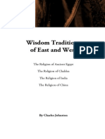 Wisdom Traditions of East and West, by Charles Johnston