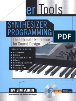 Power Tools for Synthesizer Programming the Ultimate Reference for Sound Design