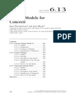 Handbook Damage Models for Concrete