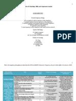 artifact h - naspa and acpa competencies