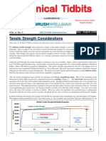 Technical Tidbits July-August 2005_ Tensile Strength Considerations