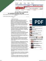 09-02-14 Convoca González Benavides a construir en unidad triunfos del PRI