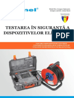 Testarea in Siguranta a Dispozitivelor Electrice - PAT
