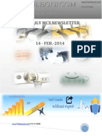 Daily Mcx News updates by the Equicom 14-Feb