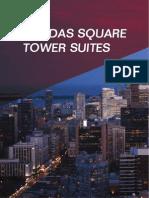 Dundas Square Gardens Tower Floorplans