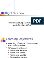 Understanding Flammables and Combustibles
