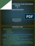 Presentation on FRHTF