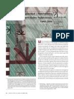 Federalismo Fiscal y Desigualdad