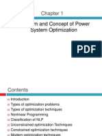 MYr Power System Optimization