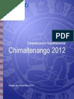 Caracterizacion Departamental Chimaltenango