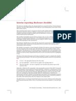 Interim Checklist DisclosdADsure