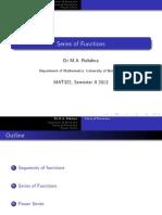 Series of Functions