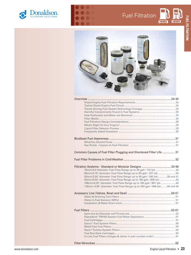 070616 Biodiesel Filtration Davco Fuel Filter Housing