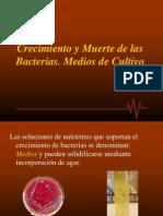 Nutrición bacteriana 2 crecimiento bacteriano