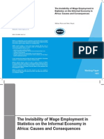 The Invisibility of Wage Employment in Statistics on the Informal Economy in Africa
