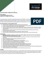 2014-15 Incubator School Job Announcement + OnePager