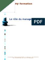 Le Role Du Manager