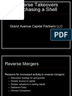 Reverse Mergers, A Primer