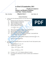 Accountancy and Business Statistics