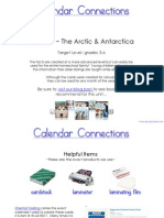 Arctic and Antarctica Calendar Connections