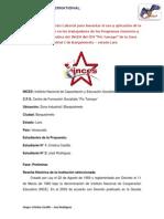 Propuesta de Capacitación 2014 Castillo y Rodríguez