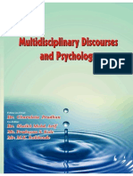 Multidisciplinary Discourses and Psychology