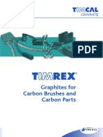 Brochure TIMREX Graphites for Carbon Brushes and Carbon Parts